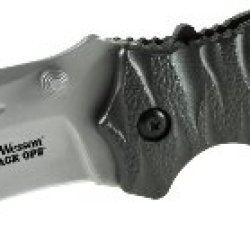 Smith And Wesson Swblop4 Black Ops 4 M.A.G.I.C. Assist Liner Lock 4034 Stainless Steel Blade Folding Knife