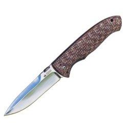 Kizlyar Kk0123 Vega 440C Russian Made Tactical Knife, Satin