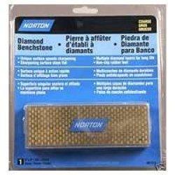 "Norton 87515 Diamond Benchstone, Coarse Grit, 6"" Lg, 2-1/2"" Wd, 1/4"" Thk (Pack Of 1)"