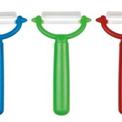 Set Of 3 - Original Ceramic Blade Y Peeler Assorted Colors