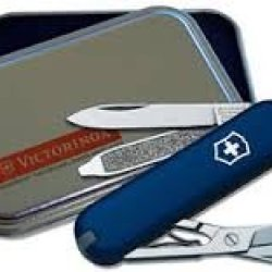 Victorinox Classic Sd Cobalt Blue Asi Package