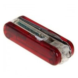 Red 16Gb 2-In-1 Simple Mini Rotating Swiss Army Knife Style Usb2.0 Flash Drives Memory U Disk