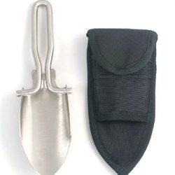 Rothco Stainless Steel Folding Shovel, Silver, O/S