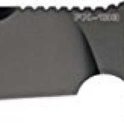 Fox Combat Jungle Fixed Blade Knife, 7.5In, Stainless Blade, Green/Black Micarta Handle Fx-133Mgt
