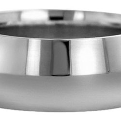 Wedding Bands; Platinum Knife Edge Wedding Bands Men`S And Women`S 10Mm Wide Comfort Fit