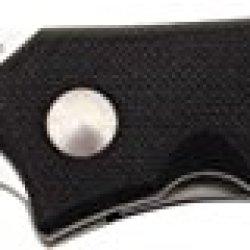 Al Mar Nd-2 Nomad Folding Knife, Black G10 Handle, Plain