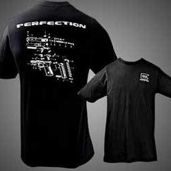 Glock Oem Brkdwn T-Shirt Short Sleeve Black Medium