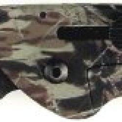 Ruko 3-Inch Blade Folding Knife With Plain Edge Shark Lever Action Camouflage Handle