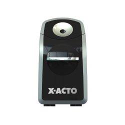 X-Acto Sharpx Portable Battery Pencil Sharpener, Black/Silver (1770)