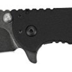 Zero Tolerance 0566Bw Hinderer Folder Blackwash Knife With Speedsafe