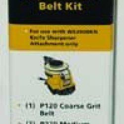6 Belt Assortment Kit For Knife Sharpening Attachment