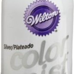 Wilton Silver Color Mist Food Coloring Airbrush Cake Decorating New