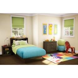 Image of Kids Bedroom Furniture Set 2 in Chocolate - South Shore Furniture - 3159-BSET-162 (3159-BSET-162)