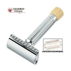 Dovo Polished Chrome Plated Razor Adjustable