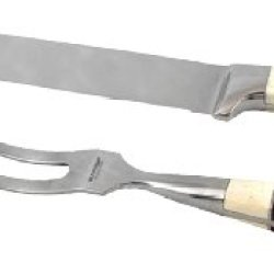 Sarge Knives Sk-163 Meat Carving Set With Carving Knife And Fork