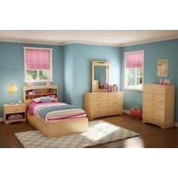 Image of Kids Bedroom Furniture Set 1 in Natural Maple - South Shore Furniture - 3113-BSET-141 (3113-BSET-141)
