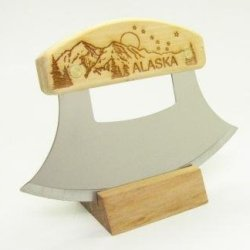 Inupiat Birch Alaska Cutlery Ulu Knife Mountain Big Dipper