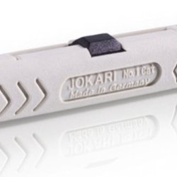 Jokari 30500 No.1-Cat Powerful Stripping Tool For Pvc-Insulated Data Cables, 10Cm L X 1.8Cm W X 1.8Cm H