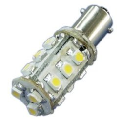 Ledwholesalers Mini Bayonet Ba9S Led Auto Bulb 15 Smd Led, Green, Sell By Package Of 3, 1436Gn X3