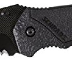 Schrade Scha4Bts M.A.G.I.C. Assisted Opening Liner Lock Partially Serrated Folding Knife