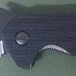 Emerson Bulldog Bt With Plain Black Blade