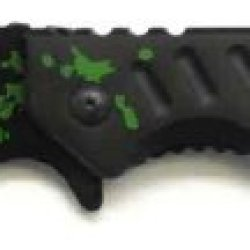 """""""Infected"""" Zombie Slayer Rescue Folding Knife"""