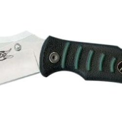 Outdoor Edge Flip N' Zip Fz-20 Folding Lockback Skinning Blade With Revolutionary New Flip-Out Gutting Blade