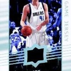 2008-09 Upper Deck Game Jerseys #Gadn Dirk Nowitzki Jsy