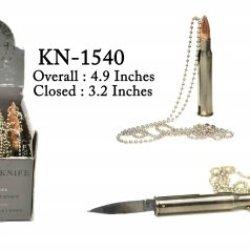 """30-06 Bullet 3"""" Neck Knife"""