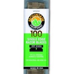 #9 Single Edge Razor Blades. 100 Pack (Mtn950) Category: Putty Knives