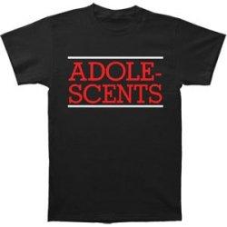 Adolescents Men'S Album 1 Black T-Shirt Xx-Large Black