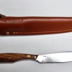Rosewood Trout & Bird Carbon Blade