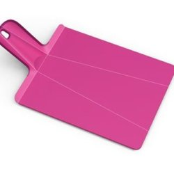 Joseph Joseph Chop2Pot Plus Small Cutting Board, Pink