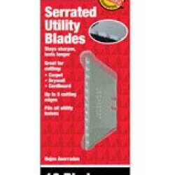 """Rapid Tool Canada Ah0003 """"Ace"""" Utility Knives Patented Serrated Blades"""