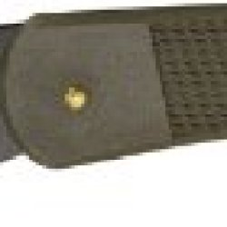 Puma Knives 63351010A Black Titanium Coated Sgb Featherweight 35 Lockback Knife With Brown Abs Handles