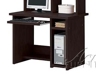 Picture of Comfortable Computer Desk Contemporary Style in Espresso Finish (B0045R6NA0) (Computer Desks)