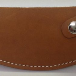 Genuine Leather Ulu Knife Quality Sheath Natural - For Inupiat Knife