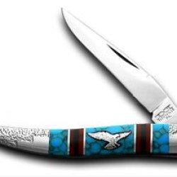 Schatt & Morgan David Yellowhorse Eagle Toothpick 1/100 Pocket Knife Knives