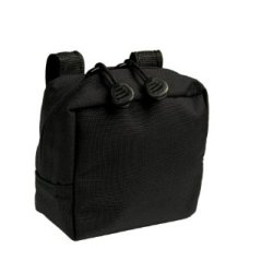 Uncle Mike'S Molle Compatable Small Utility Pouch, Black