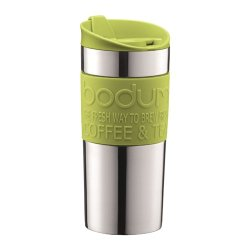 Bodum Stainless Steel Vacuum Travel Mug 0.35L / 12Oz Lime Green