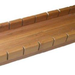 """Bamboo Baguette Cutting Board. 20.75"""" X 4"""" X 2"""""""