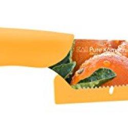 Kai Usa Pure Komachi Ab9076 Hd Photo Citrus Knife, 4-Inch, Oranges