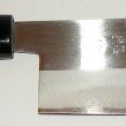 Kitchencookshop Titanium Wood Handle Knife Vegetable Knife Nakiri Bocho 0906