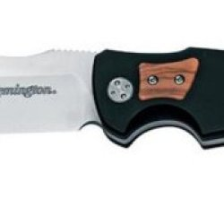 Remington Elite Hunter Series Fixed Balde Knife With Clip Point (Olive Wood Inserts)