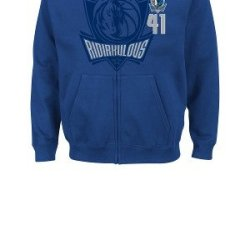Nba Dallas Mavericks Men'S Dirk Nowitzki 41 Deny The Ball Full Zip Hoodie