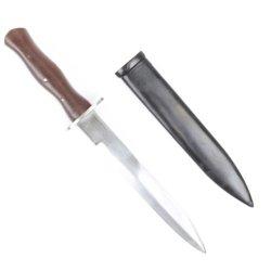 Italian Ww2 Fascist Fighting Knife & Scabbard