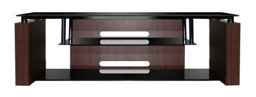 Image of Bell'O AVSC-9870 TV Stand  for up to 73-inch Displays  - Espresso (Dark Brown) (AVSC-9870)