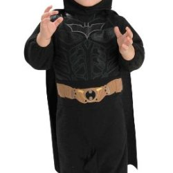 Batman The Dark Knight Romper, Batman Print, 6-12 Months