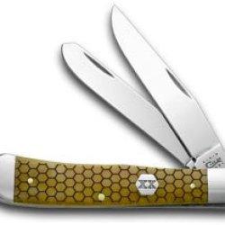 Case Xx Antique Bone Hexagon Trapper Pocket Knife Knives