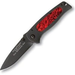 Smith & Wesson Sw2001Bdr Swat Baby With Insert Knife, Black And Dark Red
